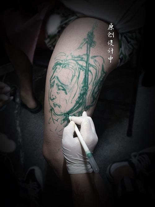 纹身竹子图案以及寓意